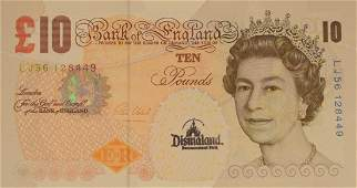 Banksy Di Faced Tenner 10 Pound Note