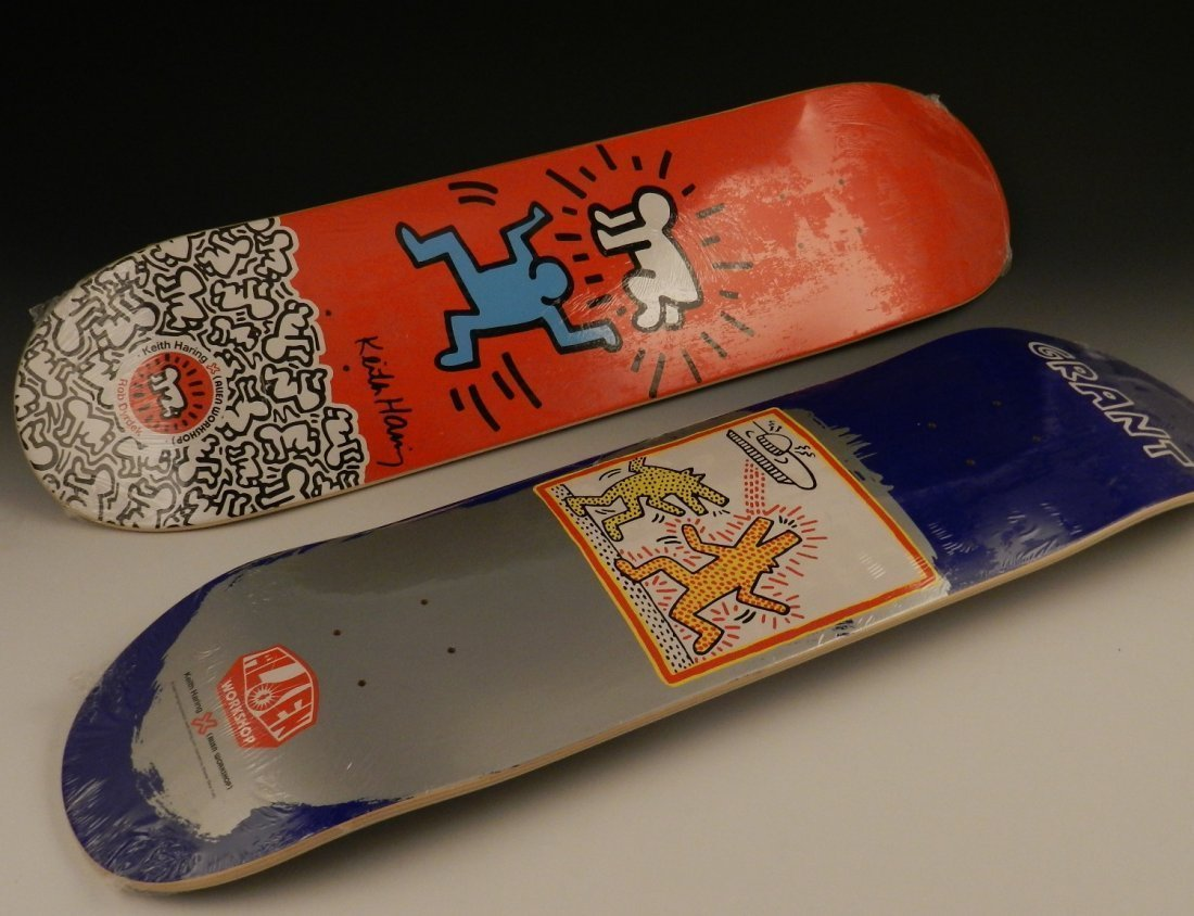 After Keith Haring Skateboard Decks