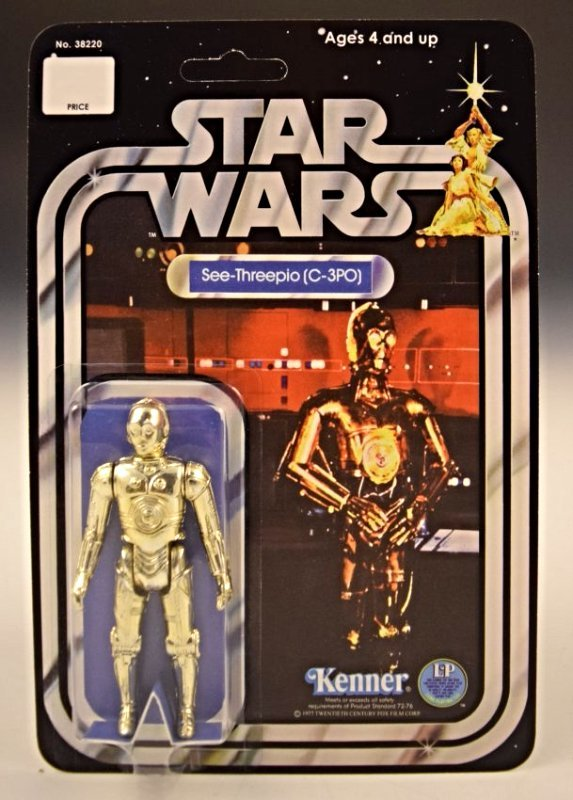 1977 Star Wars Kenner, C-3PO