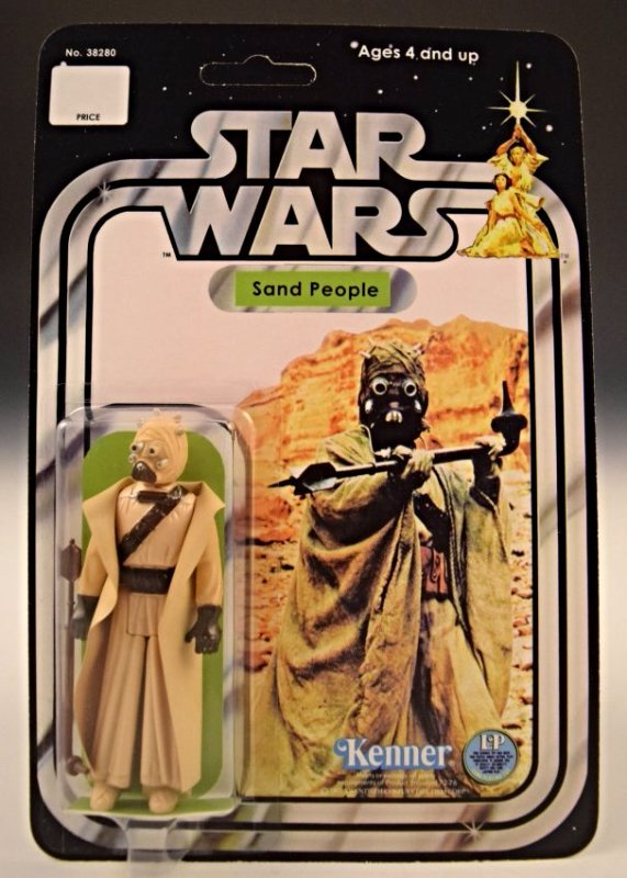 1977 Star Wars Kenner, Sand People