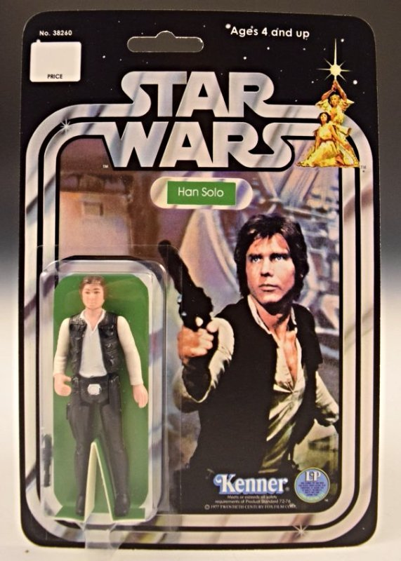 1977 Star Wars Kenner, Han Solo