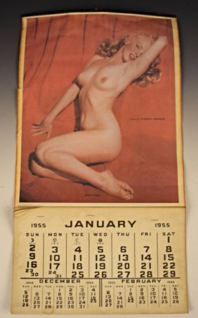 Marilyn Monroe Nude Calendar