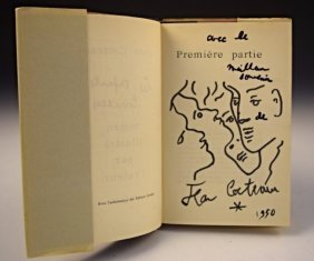 Jean Cocteau Drawing