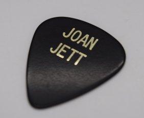 Joan Jett's Personal Guitar Pick