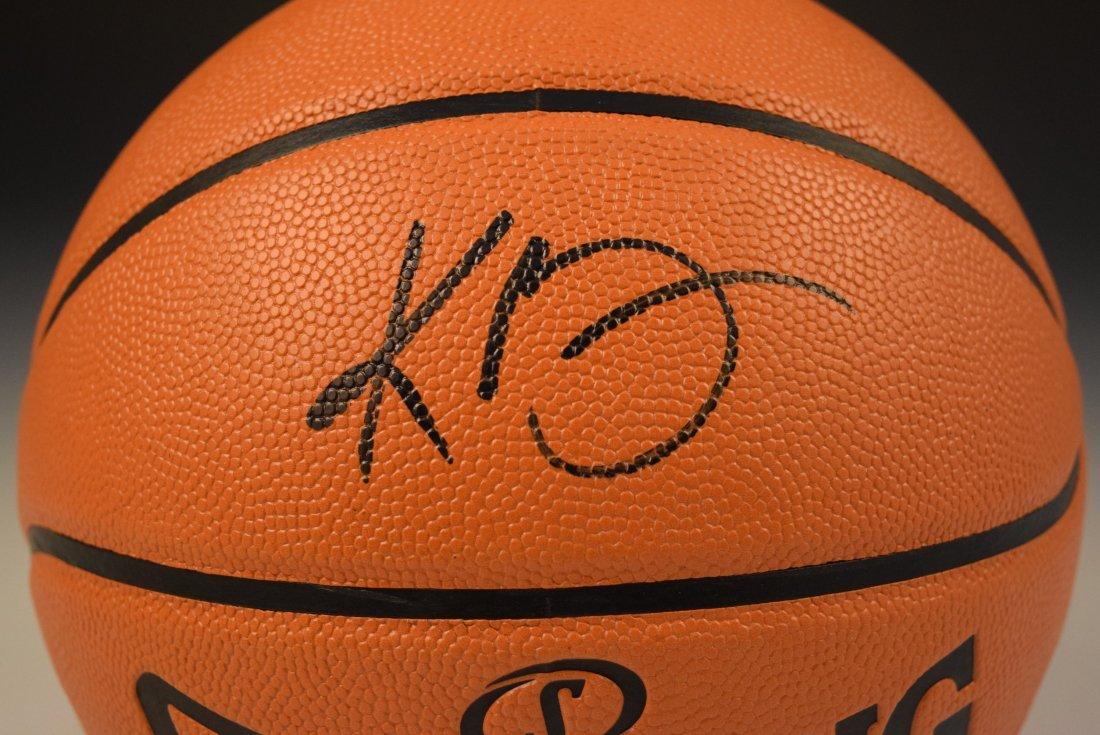Kobe Bryant Signed Basketball - 2