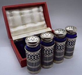 Cartier Silver Set