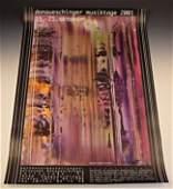 Gerhard Richter Signed Poster