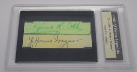 Ty Cobb, Honus Wagner Digital Autographs