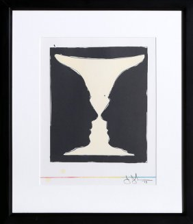 Jasper Johns, Two Cups Lithograph