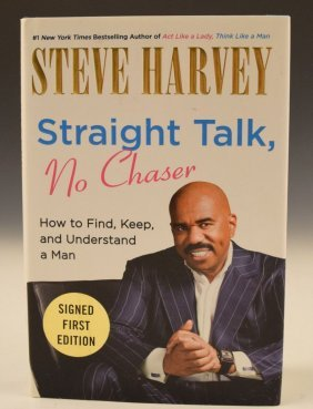 Steve Harvey Signed Book