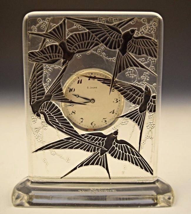 Rene Lalique Clock