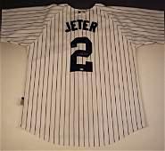 New York Yankees Derek Jeter Signed Jersey