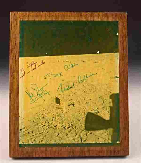 Apollo 11 Crew Signed Photograph