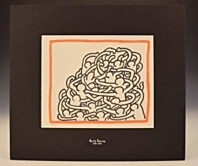 Keith Haring Original Lithograph
