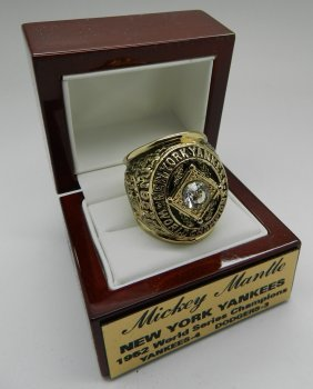Mickey Mantle Yankees Collector's Ring
