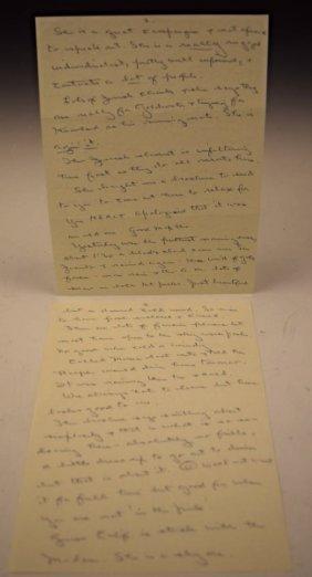 President Jfk Correspondence Letters