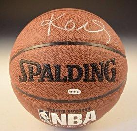 Kobe Signed Basketball