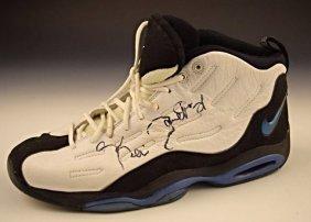 Kevin Garnett All Star Game Worn Signed Shoe