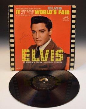 Elvis Presley Autographed Album