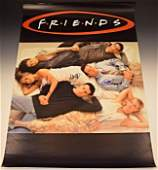 Friends Cast Signed Poster