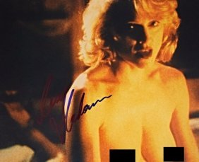 Madonna Nude Signed Photo