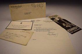 John F. Kennedy Signed Letter
