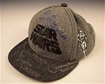 Star Wars Cast Signed Hat