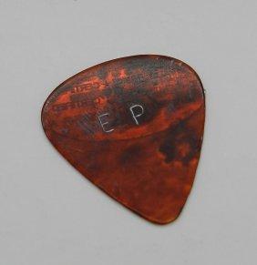 Elvis Presley Guitar Pick