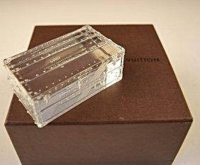 Louis Vuitton Crystal Steamer Trunk