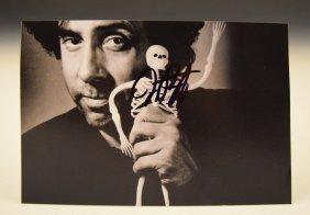 Tim Burton Autograph