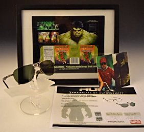 The Incredible Hulk Screen Used Props