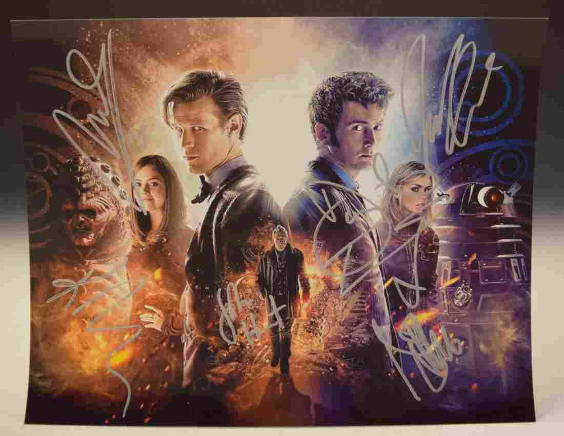 Doctor Who Cast Signed Photo