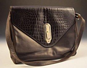 Fendi Crocodile Leather Handbag