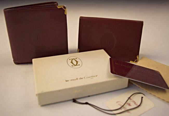 Cartier Leather Wallets