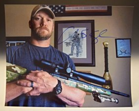 Chris Kyle American Sniper Signed Photograph