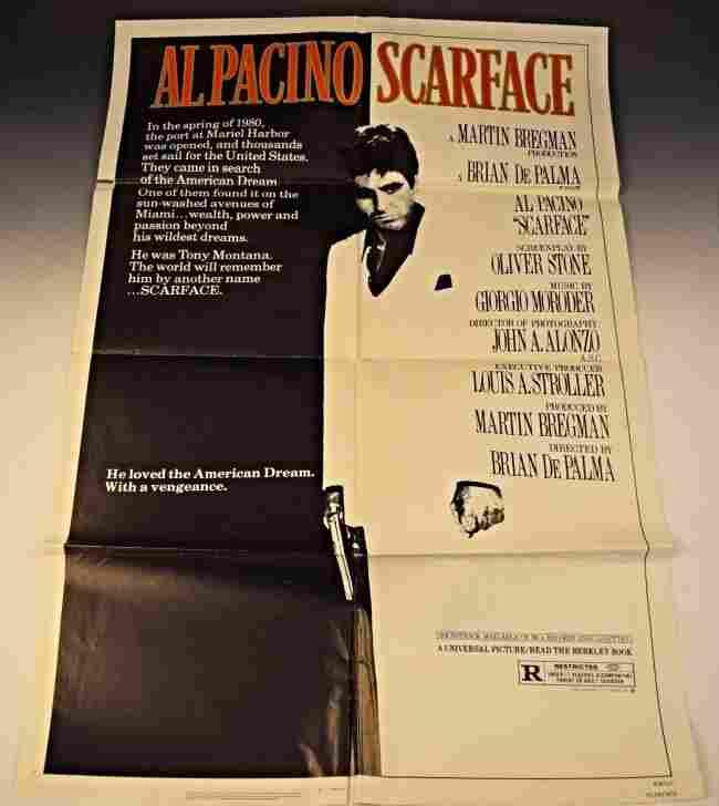 1983 Scarface Original Movie Poster