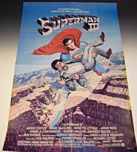 1983 Superman 3 Original Movie Poster