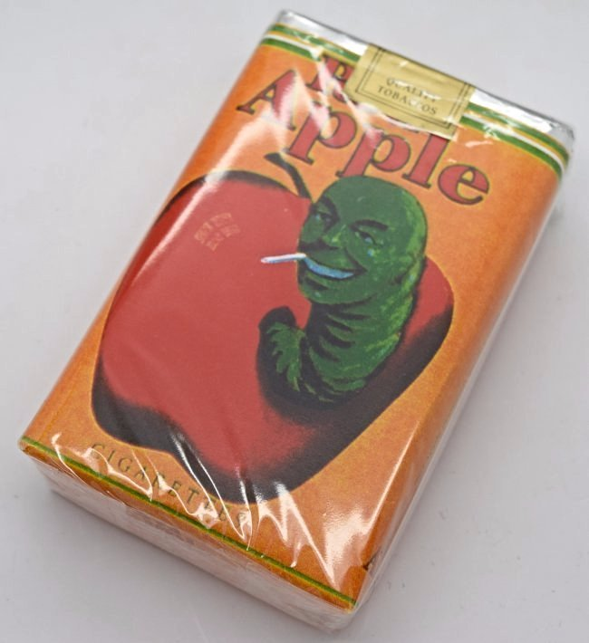 Pulp Fiction Movie Used Red Apple Cigarette Pack