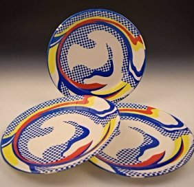 After Roy Lichtenstein Plates