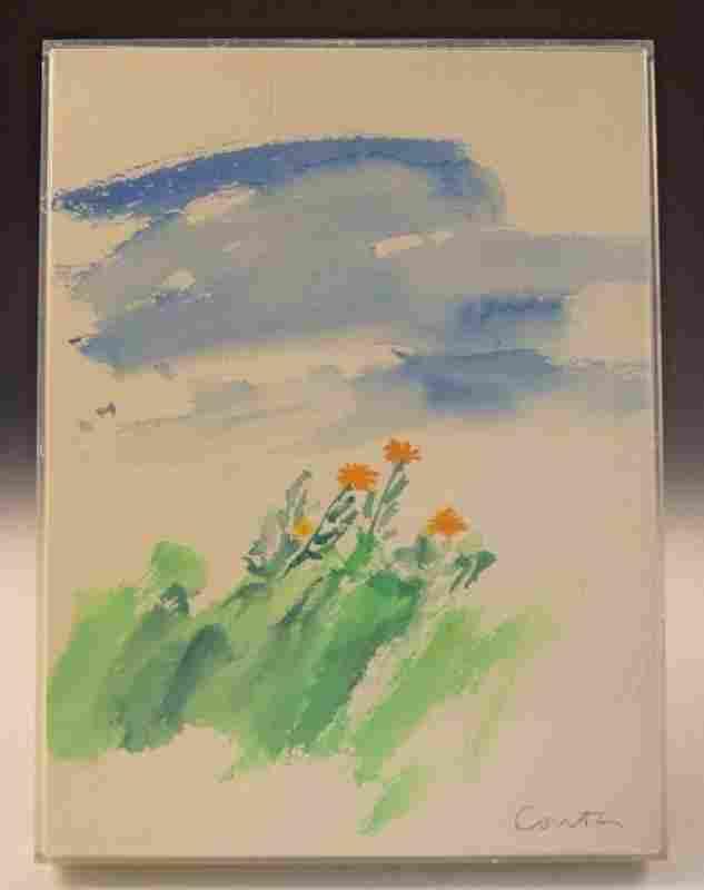 Sister Mary Corita Kent Watercolor