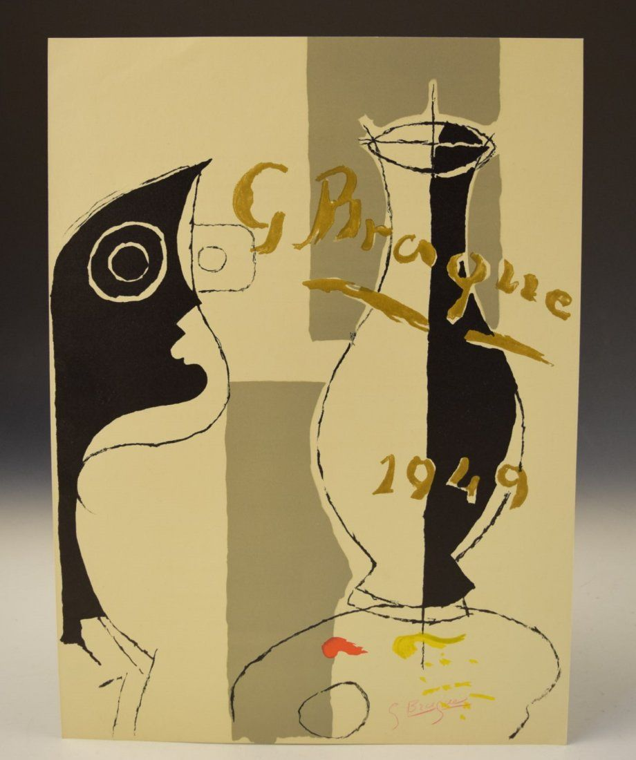 Georges Braque Signed Lithograph
