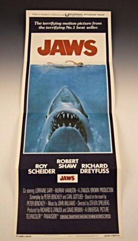 Jaws Original Movie Poster