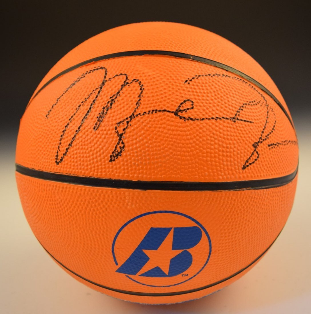 Michael Jordan Basketball Signed