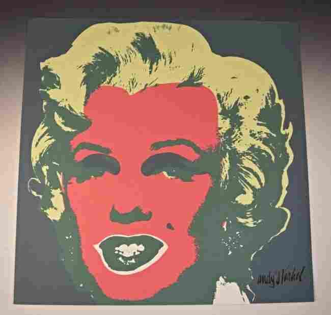 Andy Warhol Marilyn Monroe Lithograph