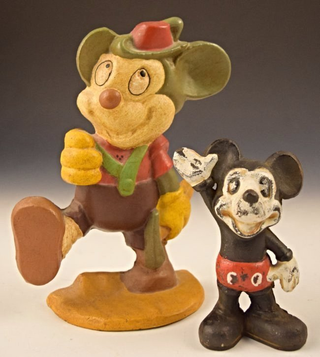 Mickey Mouse Cast Iron
