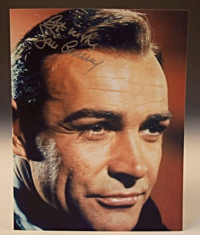 Sean Connery Autograph