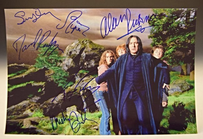 Harry Potter Cast Signed Photo