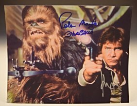 Star Wars Signed Photo