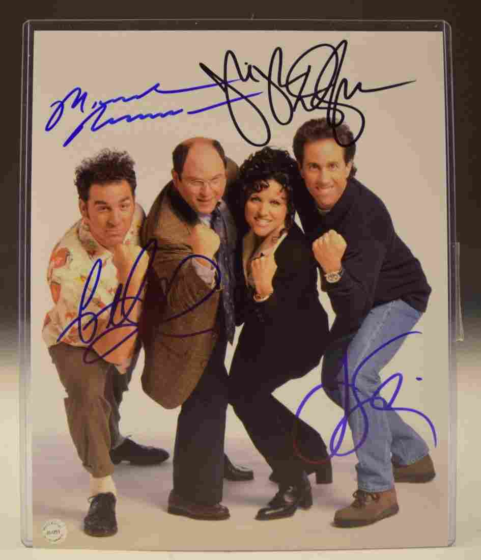 Seinfeld Cast Signed Photo