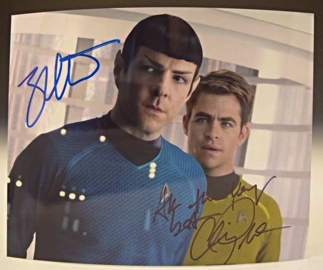Star Trek Cast Signed Photo